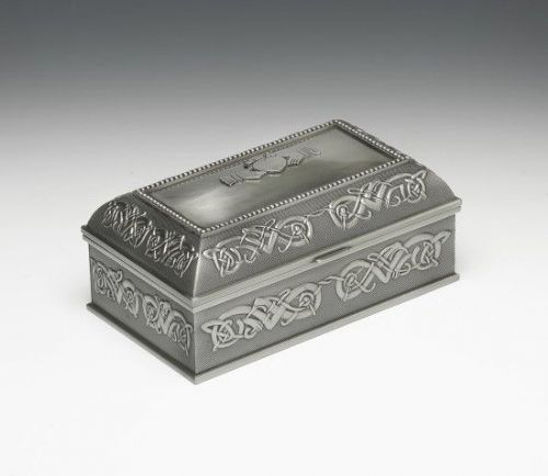 Large Claddagh Jewellery Box